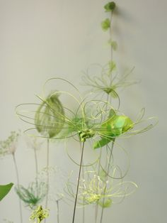 Laurence Aguerre - Explorations et Sculptures Textiles: Vert Infini - Respire - Fin
