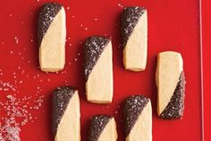 Mocha Shortbread Coffee lovers, take note: these delicate shortbread bars are infused with bold espresso and dipped in rich chocolate for a heavenly mocha flavour that goes down equally well with a mug of hot chocolate or a steaming cup of java. 7 shortbread cookie recipes to make this holiday season - Canadian Living