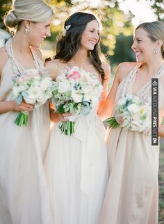 bridesmaids | CHECK OUT MORE IDEAS AT WEDDINGPINS.NET | #weddings #bridesmaids #bridal #dresses #fashion #forweddings