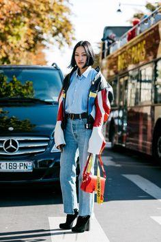 5d77c4860e1 See more. Streetwear at Paris Fashion Week. Blue Button Up Shirt