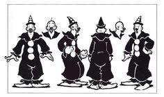 Cartoon Icons – Ko-Ko the clown 1930s Cartoons, Vintage Cartoons, Famous Cartoons, Classic Cartoons, Cartoon Kunst, Cartoon Icons, Cartoon Styles, Cartoon Art, Cartoon Character Tattoos
