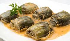 alcachofas(alcauciles) con salsa española (puerros,cebolla, zanahoria)