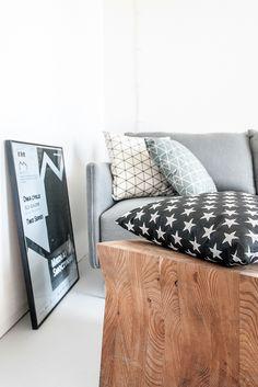 www.lillasky.com. Black, white and gray in home decor