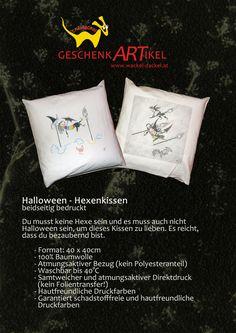 Halloween-Kissen, beidseitig bedruckt
