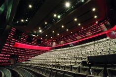 Melbourne Theater Company- Melbourne, Australia. By Ashton Raggatt McDougal architects Auditorium Architecture, Acoustic Architecture, Theater Architecture, Public Architecture, Commercial Architecture, Victorian Architecture, Recital, Aluminium Cladding, Cultural