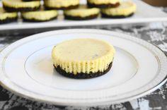 Lavender Mascarpone Mini Cheesecakes - Jeanie and Lulu's Kitchen