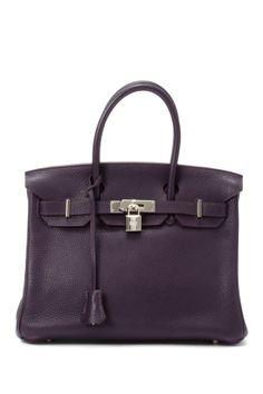 Vintage Hermes Leather Birkin 30 Handbag on HauteLook - It's only $16,000. No big deal.