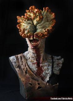 The Last of Us - Clicker concept art Arte Horror, Horror Art, Dark Fantasy, Fantasy Art, The Last Of Us2, Monster Concept Art, Creature Concept, Video Game Art, Creature Design