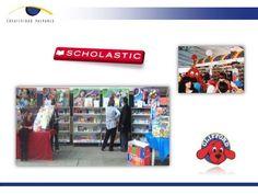 scholastic,labor de venta, ferias de libros, activaciones