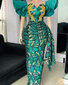 African Fashion Ankara, African Wear, Wedding Dress Sleeves, Dresses With Sleeves, Wedding Dresses, Aso Ebi, Asos, Formal Dresses, How To Wear