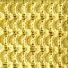The Crescent Stitch   Any size