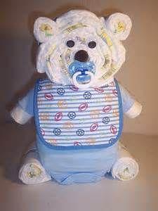Baby Shower Diaper Cake Centerpiece - Bing Images