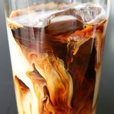 This iced coffee... coolest ever!