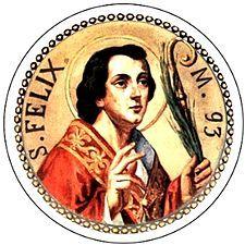 Oggi si commemora San Felice di Nola, sacerdote e martire. A sei km da Nola, a Cimitile vi è uno dei più importanti complessi paleocristiani del Mezzogiorn