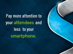 Pay more attention to your attendees. #skylineexhibits #planning