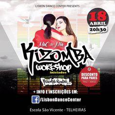 Kizomba  Power em Telheiras na Lisbon Dance Center @lisbondancecenter #kizombapower #kizomba #aulas #workshop #lisbondancecenter