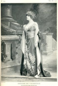 Le Theatre 274 May 1910 Irma Lurette Lantelme