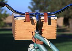Bike Wine Crate Bask
