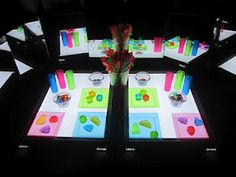 Light Tables 101 (featuring 101 ways to use a light table) from Caution! Twins at Play