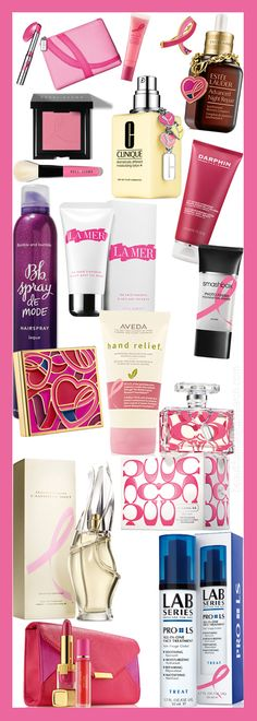 The Estēe Lauder Companies' Breast Cancer AwarenessCampaign. - Home - Beautiful Makeup Search: Beauty Blog, Makeup & Skin Care Reviews, Bea...