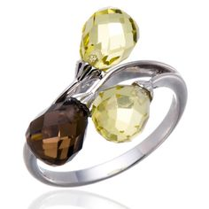 Cheap gemstone jewelry, Buy Quality gemstone rings silver directly from China 925 sterling gemstone rings Suppliers: Hutang Stone Jewelry Natural Lemon Quartz Smoky Quartz Gemstone Solid 925 Sterling Silver Ring Fine Fashion Jewelry New Arrival Smoky Quartz Ring, Lemon Quartz, Gemstone Jewelry, Jewelry Accessories, Fine Jewelry, Silver Rings, Fashion Jewelry, Engagement Rings, Gemstones