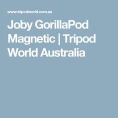 Joby GorillaPod Magnetic | Tripod World Australia
