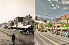 Here's What 8 Wild West Towns Looked Like Then and Now