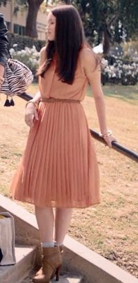 Katie Chang, The Bling Ring, The pink outfit
