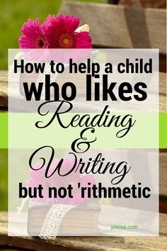 Did you hate 'rithmetic (maths) as a child? I didn't like it either. But now i know why. And I am determined to share ways to prevent that happening to others. Just as we want our little ones to learn to read, we must be just as enthusiastic for them to g
