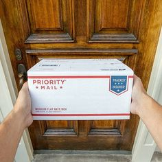 The best surprises are the ones that arrive at your doorstep. #usps #postalservice #uspostalservice #doors #mail