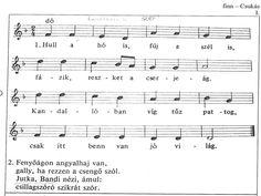 mezeikinga: Hull a hó is. Sheet Music, Songs, School, Advent, Christmas, Xmas, Weihnachten, Music Score, Navidad