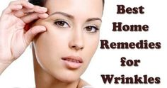 Best Home Remedies to Reduce Wrinkles Naturally - The Healthy What Causes Wrinkles, Face Wrinkles, Home Remedies For Wrinkles, Eye Wrinkle, Wrinkle Creams, Cucumber On Eyes, Homemade Face Moisturizer, Cellulite Scrub