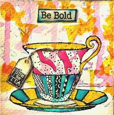 by Renee Zarate When I was young my Grandmother's favorite way to fix any problem in life was to have a cup of tea. As I've gotten older I still love tea time in the afternoon. This mini Tea Journa… Bolton House, Coffee Cup Crafts, Tea Gifts, October 2014, Tea Time, Tea Cups, Create, Cards, Doodle