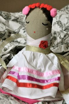 #doll #toy #handmade