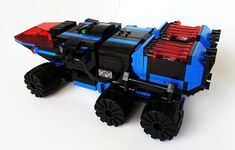 LEGO MOC   Space Police Carrier