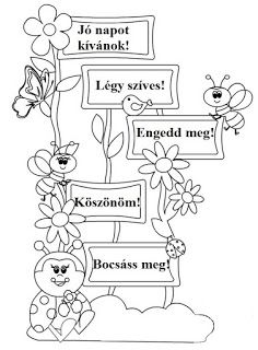 Játékos tanulás és kreativitás: Méhecskés-katicás varázsszavak I School, School Classroom, Primary School, Classroom Decor, Middle School, Doodle Coloring, Colouring Pages, Halloween Activities For Kids, School Bulletin Boards