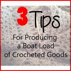 {Day 19 and 20} Getting all the inventory made. A couple of tips to working in a factory of 1 (or 2 or 3) #crochet