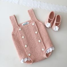 Visit the site for details. Knitting For Kids, Crochet For Kids, Knitting Projects, Baby Knitting, Crochet Bebe, Knit Crochet, Free Crochet, Baby Romper Pattern, Baby Dragon