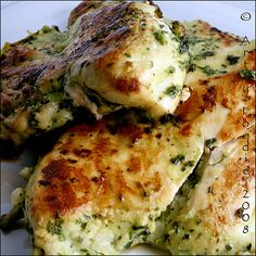 Cilantro Grilled Chicken.