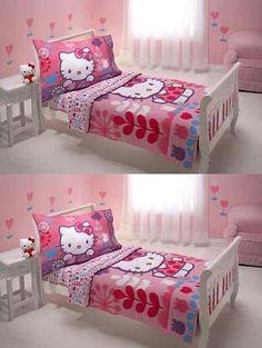 Bed Skirts 66726 Toddler Bedding Set Hello Kitty Bedspread Quilt Comforter Sheet Pillowcase