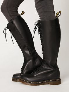Dr. Martens 20 Eye Zip Boot at Free People Clothing Boutique