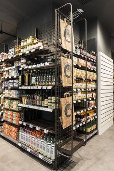 Supermarket Design, Shop Interiors, Fresh Start, Retail Design, Store Design, Grocery Store, Deli, Liquor Cabinet, Layout