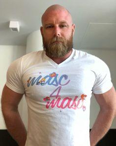 35 Amazing Beards for Balding Head for Men Over 40 Years Bald Head With Beard, Bald Men With Beards, Great Beards, Awesome Beards, Hairy Men, Beard Bald, Red Beard, Scruffy Men, Ginger Beard
