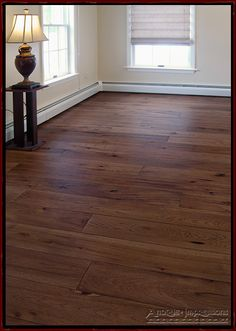 Wide Plank Hickory Flooring - Hickory floors, prefinished - by Antique Impressions