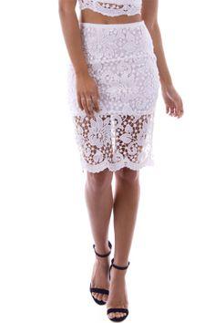 Florence Crochet Skirt | STYLEADDICT.COM.AU