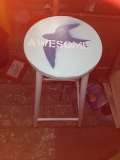 Awesome stool Time Art, Stool, Awesome, Furniture, Home Decor, Decoration Home, Room Decor, Home Furnishings, Home Interior Design