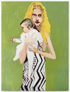 Chantal Joffe - 80 Artworks, Bio & Shows on Artsy Baby Painting, Figure Painting, Chantal Joffe, Glasgow School Of Art, Art School, Portraits, Portrait Paintings, Portrait Ideas, Royal College Of Art