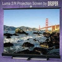Draper Luma 2, AV Format Manual Wall or Ceiling Mounted Projection Screen, 9' x 12', 15' Diagonal, Fiberglass Matte White - with Auto Return by Draper Inc. $569.95. The Luma 2 is an attractive and practical choice wherever a large spring-roller screen is required. Simple in design and rugged in construction, the Luma 2 is housed in a white steel case with matching heavy-gauge endcaps. Fiberglass matt white, glass beaded or High Contrast Grey viewing surfaces a...