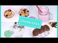Czekoladowe ciastka owsiane Cereal, Muffin, Breakfast, Food, Youtube, Morning Coffee, Essen, Muffins, Meals
