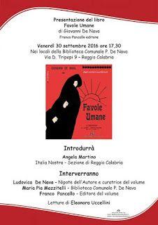 Utilize rap! Again!: FAVOLE UMANE di Giovanni De Nava, la presentazione...